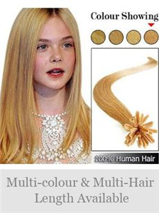 Newest 12'-30' 100% Human Hair Nail Tip Extensions