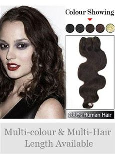 12'-30' Newest Wavy Indian Remy Hair Weft Extensions