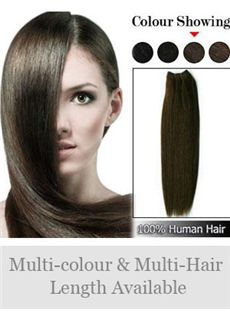 12'-30' Wide Remy Human Hair Straight Full Head Extensions
