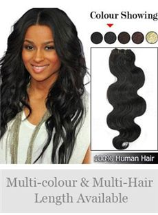 12'-30' Wide Wavy Full Head Extensions
