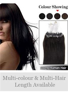 New 12'-30'  100% Micro Loop Human Hair Extensions