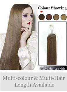 12'-30' 100% Micro Loop Human Hair Extensions