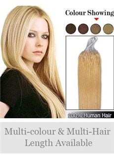 Best Selling 12'-30' 100% Micro Loop Human Hair Extensions