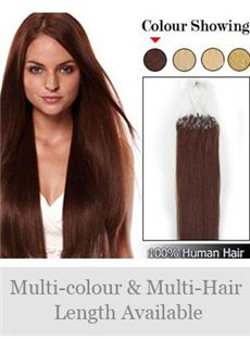 High Quality 12'-30' 100% Micro Loop Human Hair Extensions