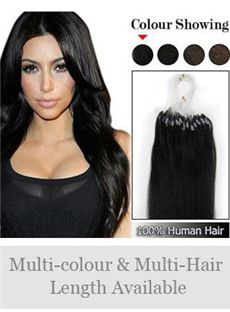 Newest 12'-30' 100% Micro Loop Human Hair Extensions