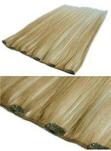 12'-30' Super Thin Clips 100% Human Hair Extensions