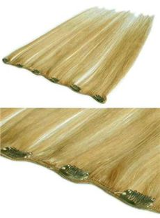 Changeable 12'-30' 100% Human Hair Extensions