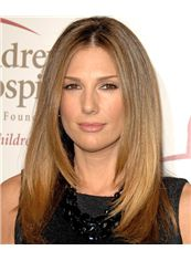 18 Inch Straight Daisy Fuentes Lace Front Human Wigs