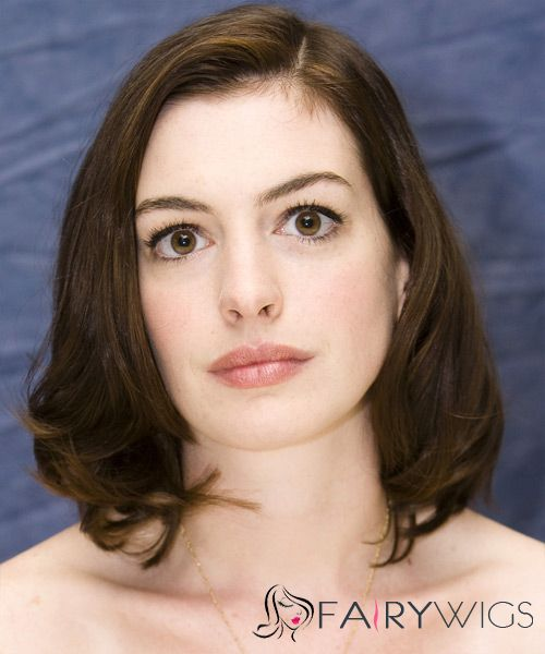 14 Inch Wavy Anne Hathaway Full Lace 100% Human Wigs
