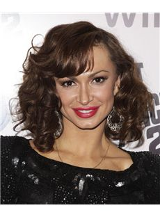 14 Inch Wavy Karina Smirnoff Lace Front Human Wigs