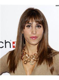 18 Inch Straight Rachel Heller Capless Human Wigs