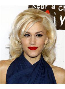 14 Inch Wavy Gwen Stefani Lace Front Human Wigs
