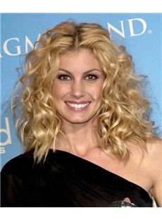 16 Inch Wavy Faith Hill Full Lace 100% Human Wigs