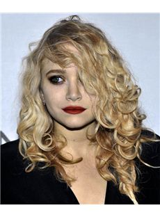 18 Inch Wavy Mary Kate Olsen Full Lace 100% Human Wigs