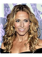 18 Inch Wavy Sheryl Crow Full Lace 100% Human Wigs