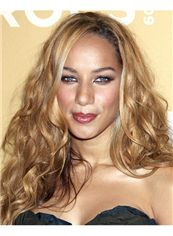 20 Inch Wavy Leona Lewis Full Lace 100% Human Wigs
