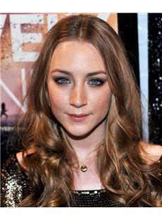 18 Inch Wavy Saoirse Ronan Full Lace 100% Human Wigs