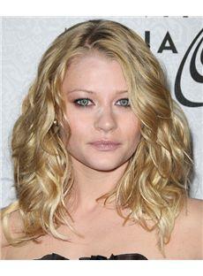 16 Inch Wavy Emilie de Ravin Full Lace 100% Human Wigs
