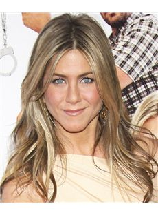 18 Inch Straight Jennifer Aniston Full Lace 100% Human Wigs