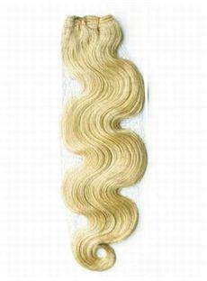 12'-30' Stunning Cheap Wavy Hair Weave Lightest Blonde