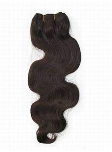 Cheap 12'-30' Lovely Wavy Darkest Brown Hair Weave