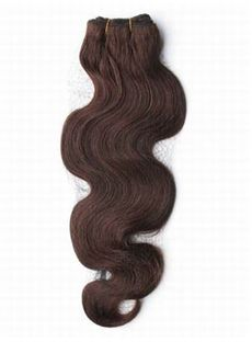 Delightful 12'-30' Wavy Chocolate Brown Cheap Weaving Hair Weave