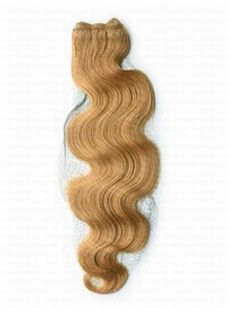 12'-30' Latest Cheap Wavy Human Hair Weave Strawberry Blonde
