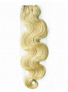 12'-30' Cheap Wavy Hair Weave Sale Lightest Blonde