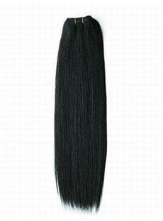 12'-30' Grand Jet Black Straight Human Hair Weave