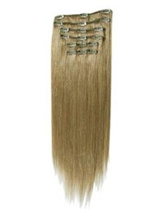 12'-30' Appealing Long Hair Extensions Clip On Ash Blonde