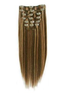 Beautiful 12'-30' Long Hair Extensions Clip On