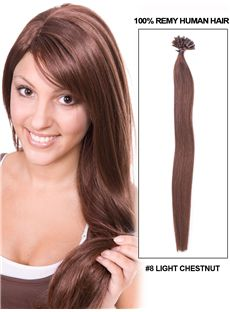 12-30 100 Strands Clip in Brazilian Remy Hair Extensions