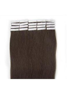 12'-30' Darkest Brown Exquisite Hair Extension Remy Tape