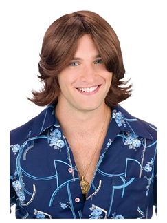 Brown Ladies Man Wig
