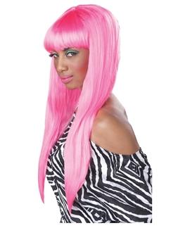 Pink Bubble Gum Wig