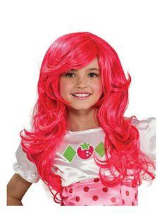 Kids Strawberry Shortcake Wig