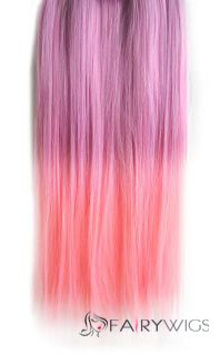 18 inches straight light pink to light magenta synthetic ombre 18 inches straight light pink to light magenta synthetic ombre hair extensions pmusecretfo Images