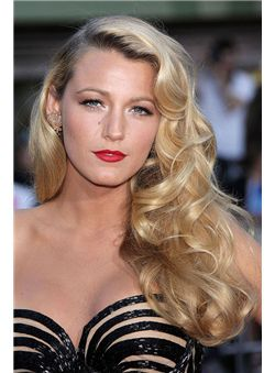 Hot 22 Inch Blonde Full Lace 100% Indian Remy Hair