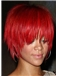 10 Inch Red Capless Indian Remy Hair