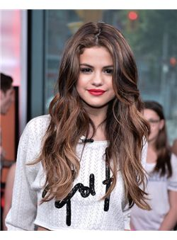 24 Inch Brown Full Lace 100% Indian Remy Hair