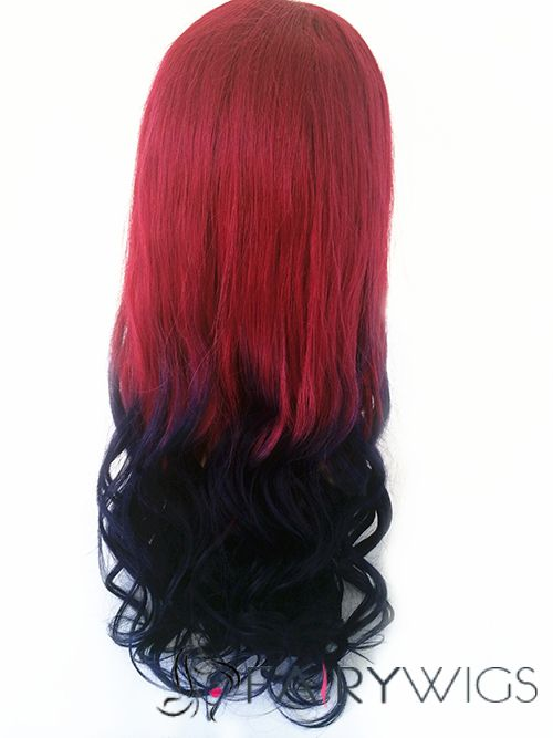 red and blue ombre hair wwwpixsharkcom images