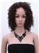 12 Inch Lace Front Black Virgin Brazilian Hair Wigs