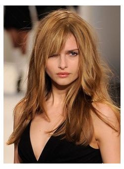 Graceful 24 Inches Lace Front Blonde Silk Remy Human Hair Wigs