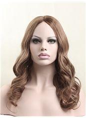 Fashion 18 Inch Full Lace 100% Indian Remy Hair Medium Wigs