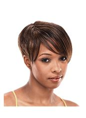 6 Inch Capless Straight Brown Synthetic Hair Wigs