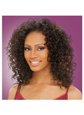 14 Inch Lace Front Curly Brown Top Quality High Heated Fiber Wigs