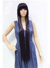 38 Inch Capless Straight Synthetic Hair Costume Wigs