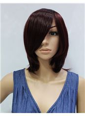 12 Inch Capless Straight Synthetic Hair Costume Wigs