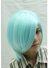 Wholesale 12 Inch Capless Straight Synthetic Hair Costume Wigs