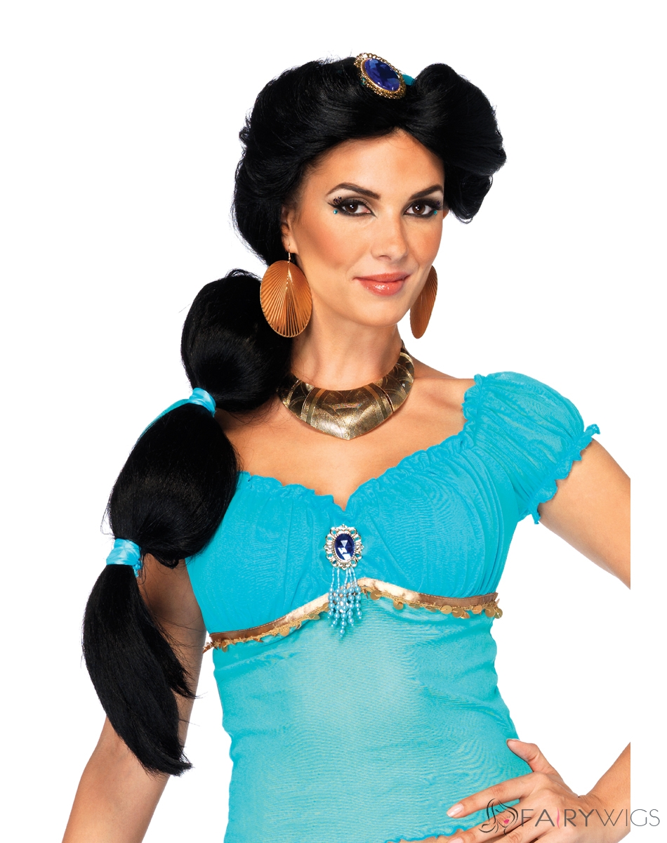 There Princess jasmine with short hair